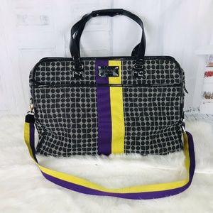 KATE SPADE Large Classic Noel Weekender Duffle Bag